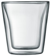Bodum Canteen Double Wall Glass Set of 2 (3 oz)