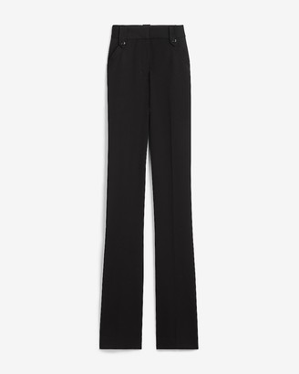 Express High Waisted Side Tab Barely Boot Pant