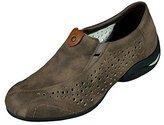 Rieker Women's Boots Klettschuhe Sympatex Amethyst Viol Synthetik Snow Sneakers