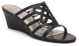 New York Transit Great Cross Wedge Sandal