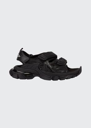 Balenciaga Track Grip-Strap Sport Sandals