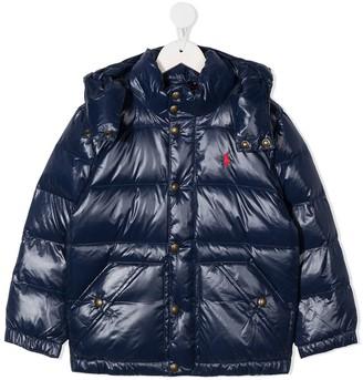 Ralph Lauren Kids Padded Hood Jacket
