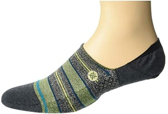 Stance Defeat (Green) Men's Crew Cut Socks Shoes