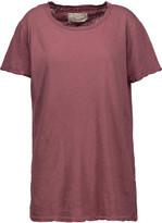 Current/Elliott The Petite linen and cotton-blend T-shirt