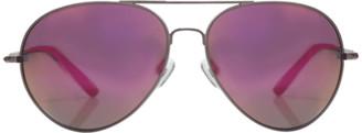 Matthew Williamson Matte Aviator Sunglasses