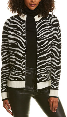 Madeleine Thompson Pongo Cashmere & Wool-Blend Bomber Jacket