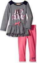 Juicy Couture Little Girls' Striped Tunic with Solid Legging