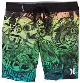 Hurley Collage Board Shorts (Little Boys)