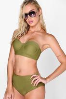 Boohoo Cabrera Longline Underwired H/W Bikini