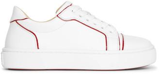 Christian Louboutin Vierissima white red sneakers