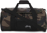 Stussy Camouflage stock duffle bag