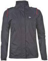 Dunlop Womens Water Resistant Golf Jacket Ladies Drawstring Hood Zip Fastening