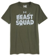 Under Armour Boy's Beast Squad Graphic T-Shirt