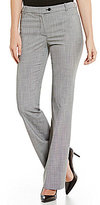Calvin Klein Mini Houndstooth Suiting Modern Fit Straight-Leg pants
