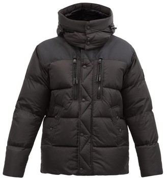 Polo Ralph Lauren Garston Hooded Quilted Recycled-nylon Down Jacket - Black