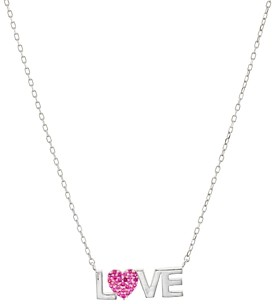 Aqua Love Pendant Necklace in Gold-Plated Sterling Silver, 16-18 - 100% Exclusive