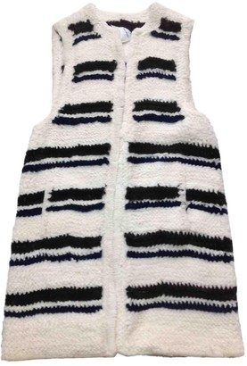 Sonia Rykiel White Mink Knitwear for Women