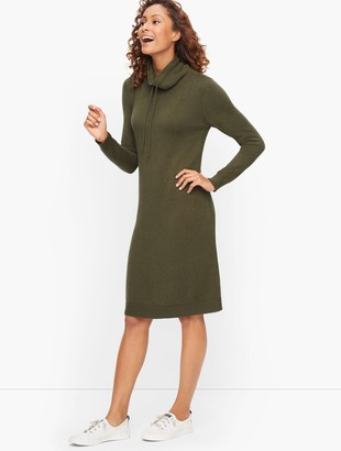 Talbots Funnel Neck Sweater Dress