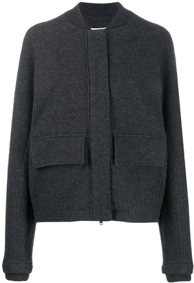 Falke Ribbed Neck Bomber Jacket