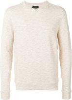 A.P.C. blurry risks print sweatshirt - men - Cotton - S