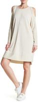 Bobeau Athletic Cold-Shoulder Dress