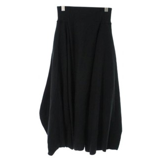 Y-3 Black Cloth Trousers for Women