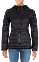 GUESS Hooded Packable Puffer Coat