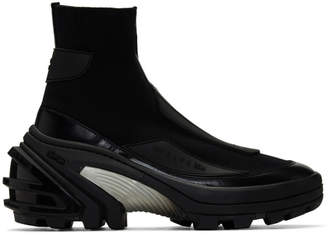 Alyx Black Knit Boots