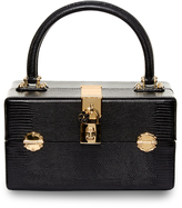 Dolce & Gabbana Dolce Vanity lizard-effect leather bag