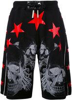 Philipp Plein Harleq track shorts - men - Cotton - XS