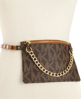 MICHAEL Michael Kors MK Logo Leather Fanny Pack
