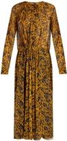 Etoile Isabel Marant Baphir floral-print silk-chiffon midi dress