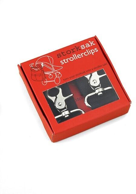 Thumbnail for your product : Storksak Diaper Bag Stroller Clips