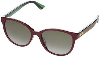 Gucci GG0703SK (Burgundy) Fashion Sunglasses