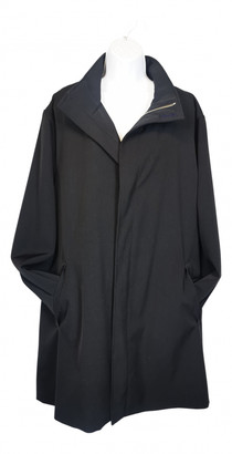 Mulberry Black Wool Coats