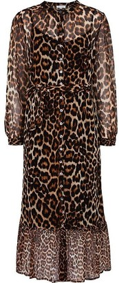 Lily & Lionel Talitha Dress in Wild Cat - XS
