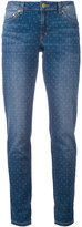 MICHAEL Michael Kors polka dot jeans - women - Cotton/Spandex/Elastane - 4