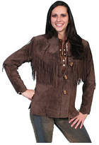 Scully Women's Boar Suede Fringe Jacket L9 Tall