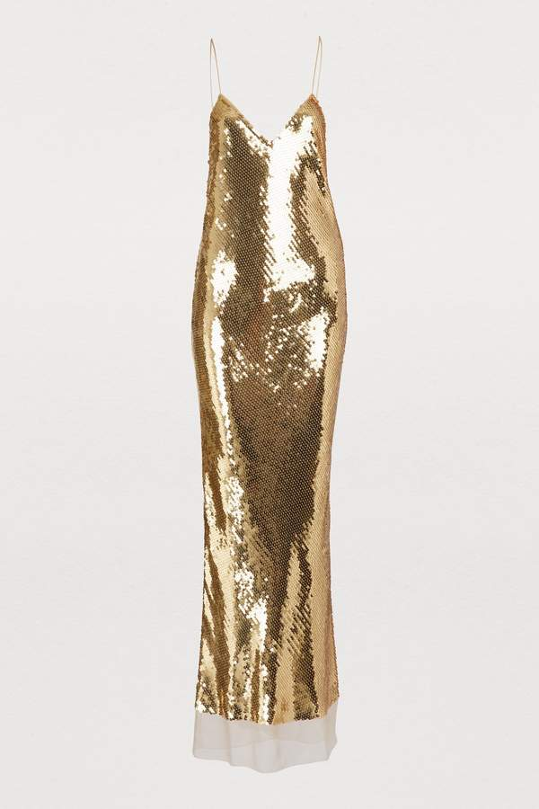 567cc7e7e09 Stella McCartney Gold Dresses - ShopStyle