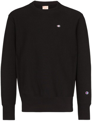 Champion Logo Patch Sweatshirt