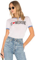 Wildfox Couture Le Weekend Tee