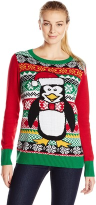Ugly Christmas Sweater Company Women's Machine Washable Pullover Sweater
