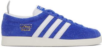 adidas Blue Gazelle Vintage Sneakers
