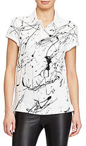 Polo Ralph Lauren Paint-Splattered Polo Shirt