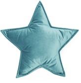Betty's Home - Sea Green Velvet Star Pillow