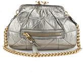 Marc by Marc Jacobs Marc Jacobs Quilted Baby Stam Leather Handbag (Pre Owned)