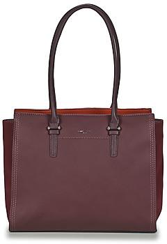 David Jones CM5306-DARK-BORDEAUX women's Shoulder Bag in Bordeaux