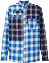 Lanvin checked shirt - men - Cotton/Rayon/Tencel - 40