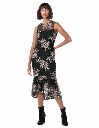 Calvin Klein Women's Flounce Hem Sheath Dress