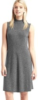 Gap Mockneck sleeveless sweater dress